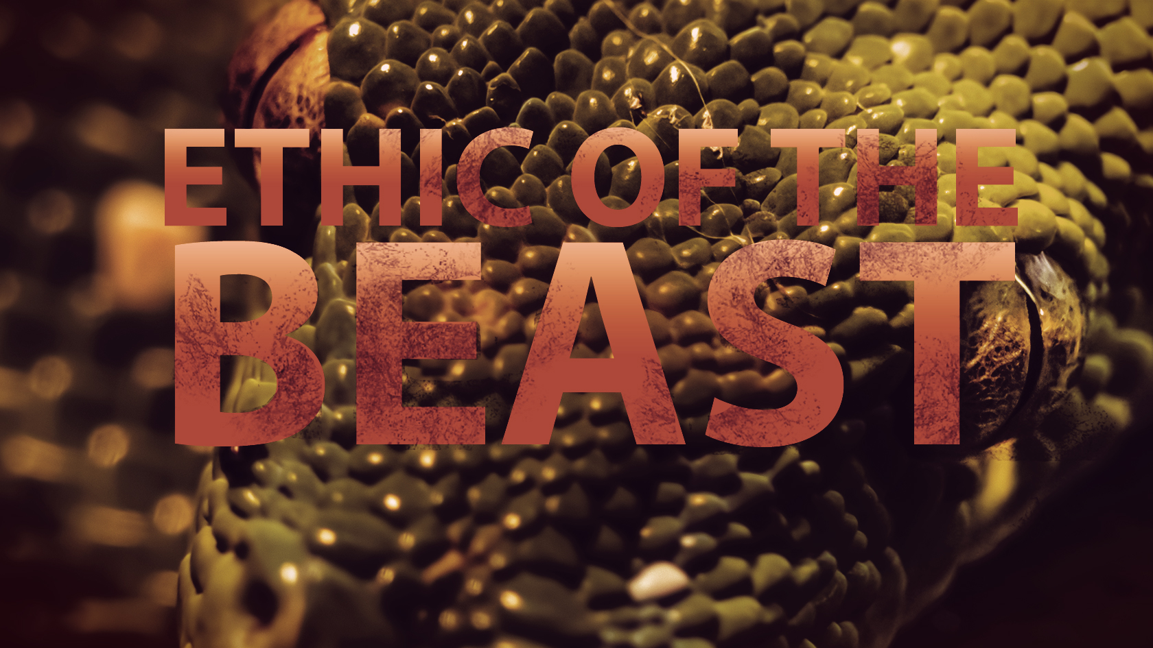 Ethic of the Beast